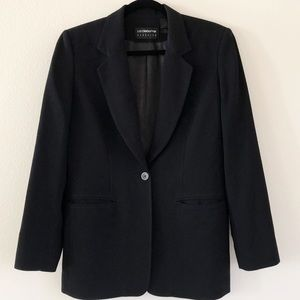 LIZ CLAIBORNE WOMENS BLAZER Size 6 SINGLE BUTTON
